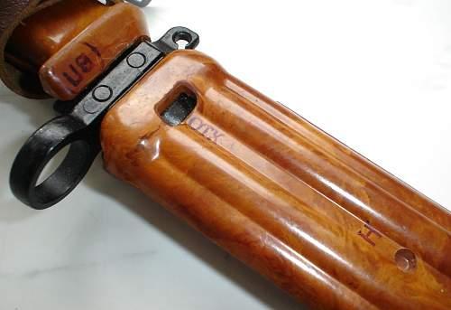 Polish bayonet?