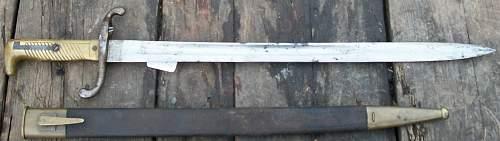 Need help to ID edged weapon