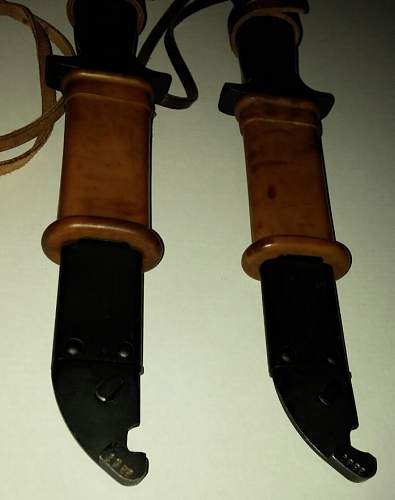 Hungarian AK style paratrooper knife.