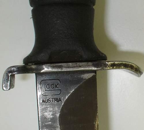 Feltkniv med skede M/96