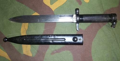 Sweden bayonet