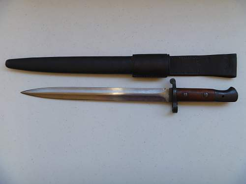 P1903 Bayonet issued to Queensland Police
