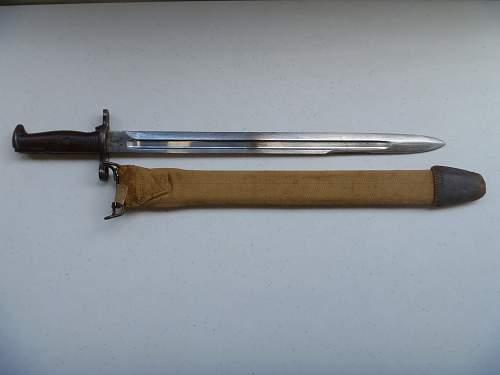 US Model 1905 bayonet