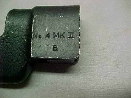Canadian Arsenals No. 4 Mk. II bayonet