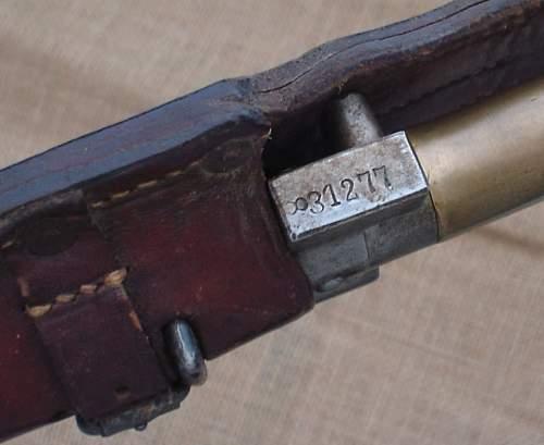 Polish Issued French 'Lebel' Bayonet