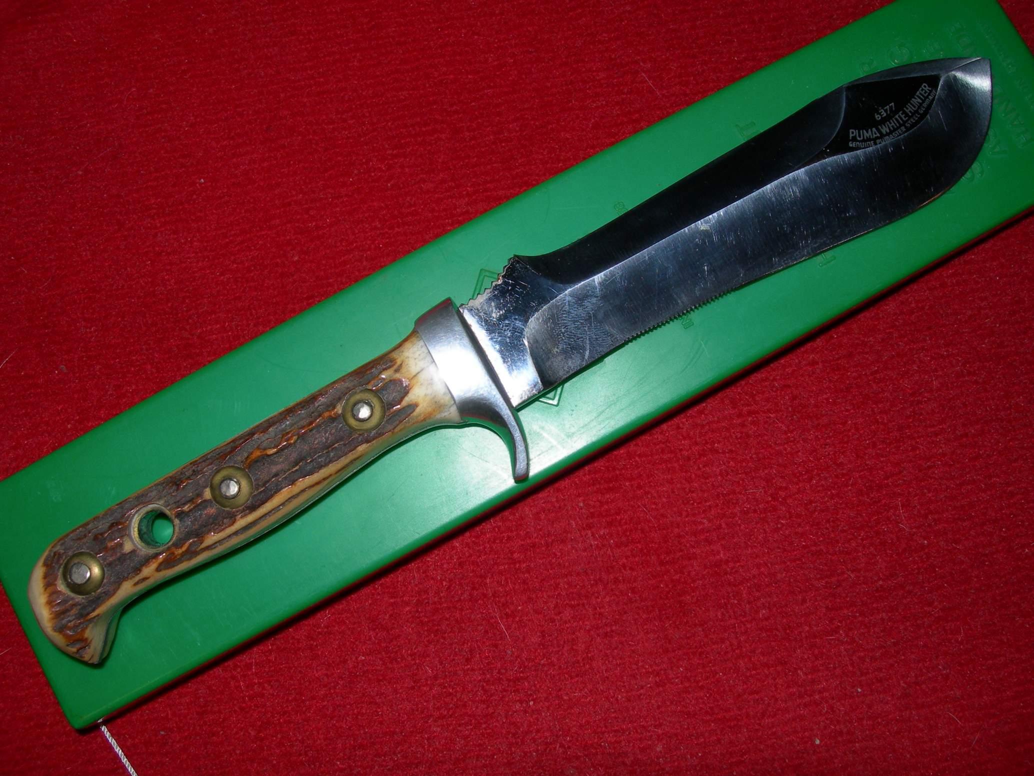 Historique Des Couteaux Pumas 3mE3J