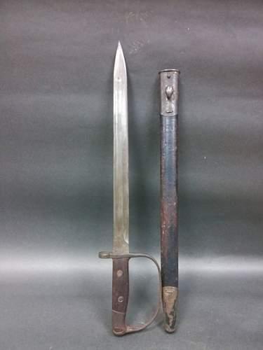 Special bayonet identification