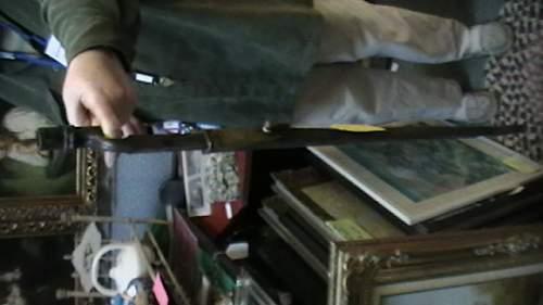 Brittish bayonet, ww1?