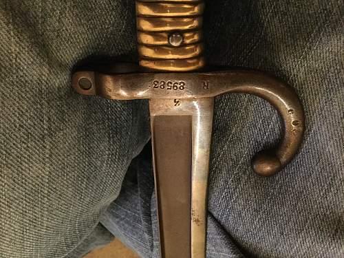 Help me identify this bayonet please