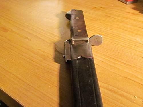 Danish 1889 bayonet / theater fighting knife