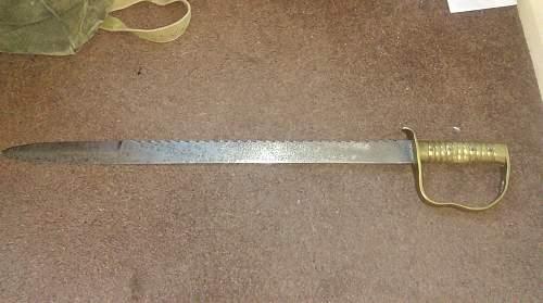 P1856 Pioneers Sawback Sword