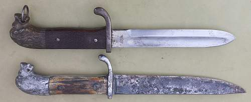 Need help to identify this mysterious knife / trench knife