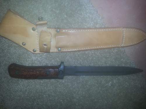 Need Help ..with Unknown Bayonet