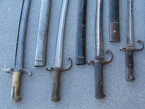 Yataghan Sword Bayonet ??