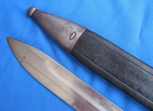 Sword bayonet M1898/05 early type by Erfurt mint