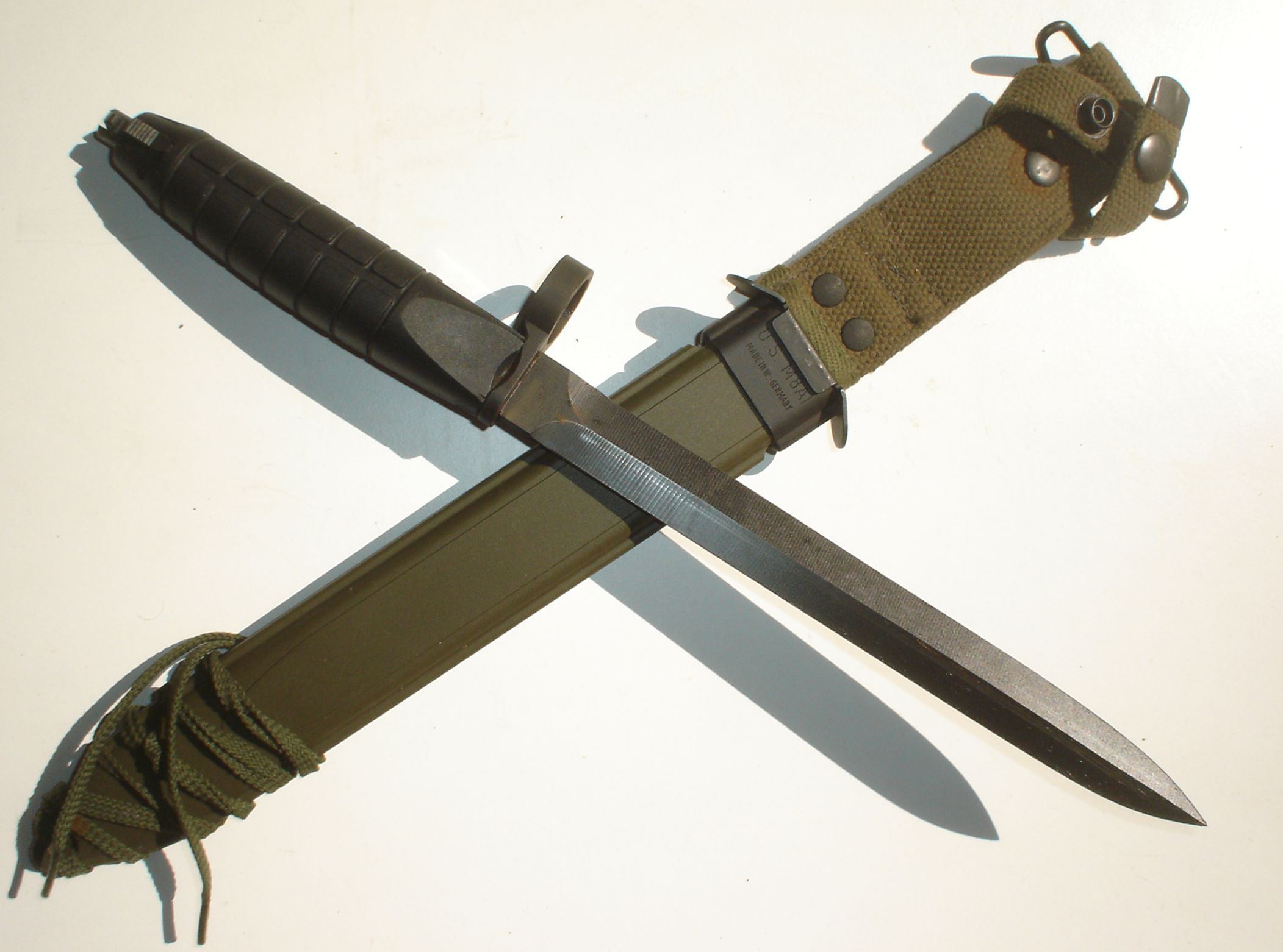 Heckler Amp Koch G3l Bayonet Quot Army Issued Quot