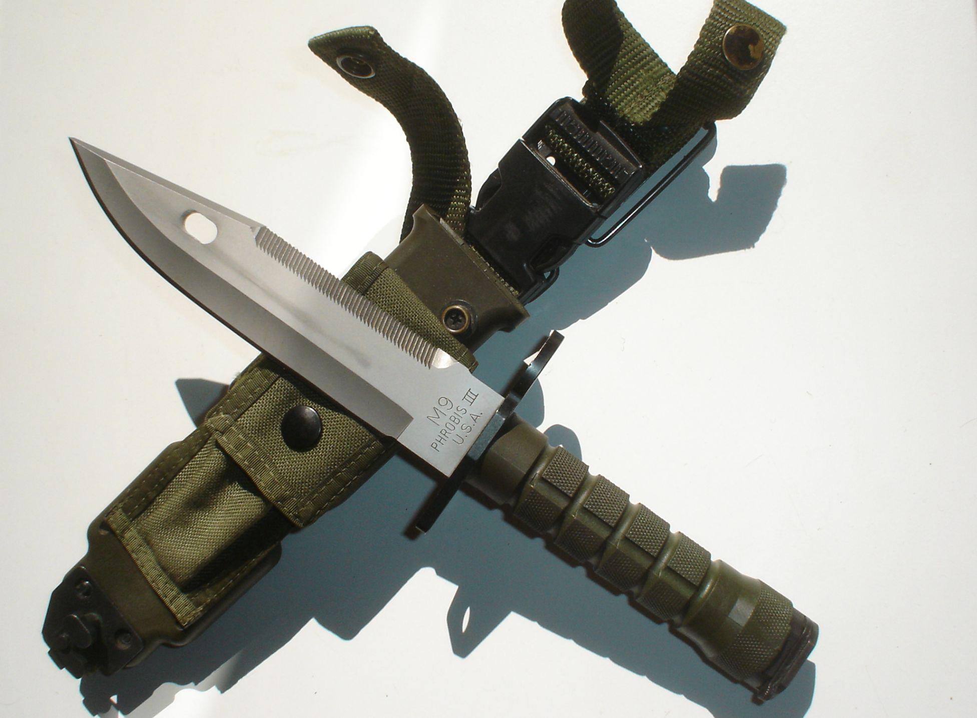 Buck 188 Phrobis Mpbs M9 Bayonet Quot Commercial Quot