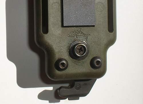 "BUCK 188 / PHROBIS MPBS M9 bayonet ""commercial"" ? ..."