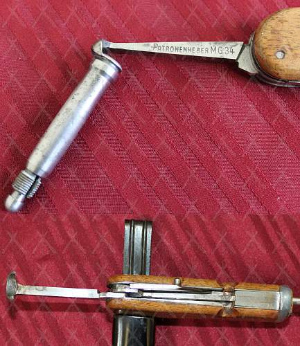 WWII German Combination Tool Trench Knife variants