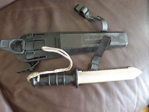 British Army Diver knife