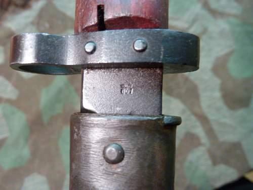 CZ Waffenamt bayonet questions