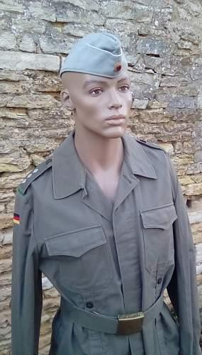 BW kampfanzug mannequins