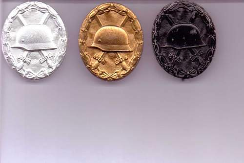 1957 Verwundetenabzeichen Silber