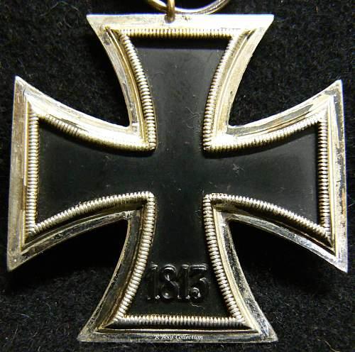 Eisernes Kreuz 2. Klasse, S&L