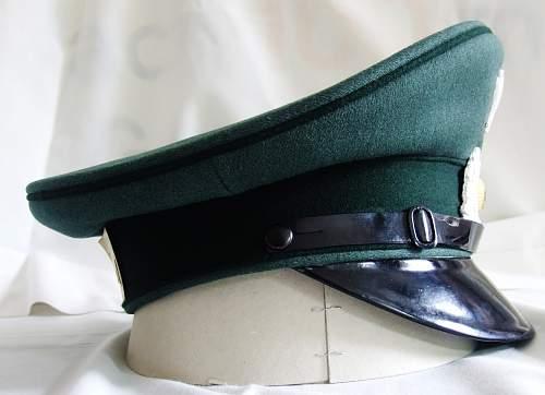 Bundesgrenzschutz 'Clewa' schirmmutze