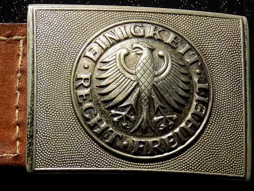 Bundeswehr Belt Buckle