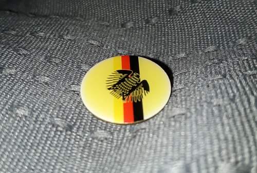 West German pin badge?