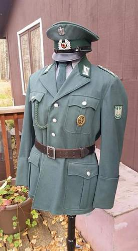 1964 BGS walking out uniform