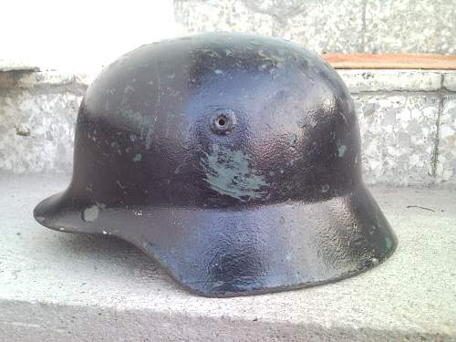 Need opinion for this German helmet...Model,period..anithing..TNX!!
