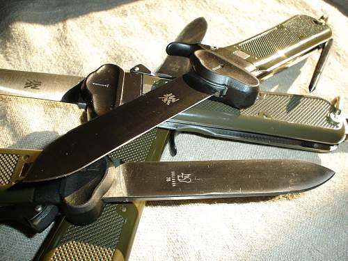 Bundeswehr gravity knife 1963 pattern