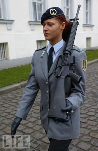 Women in the Bundeswehr.