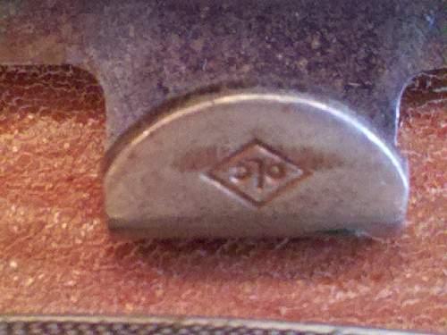 German Belt Buckle