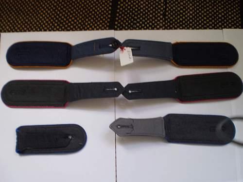 1960's era shoulder boards