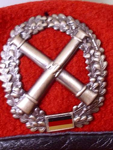 Bundeswehr Berets and soft caps....