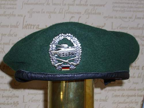 Bundeswehr Berets and soft caps....