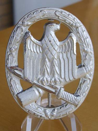 Early 57er General Assault Badge