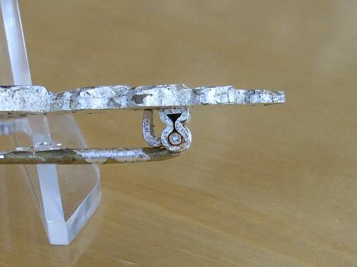 57er Silver Luftwaffe transport clasp