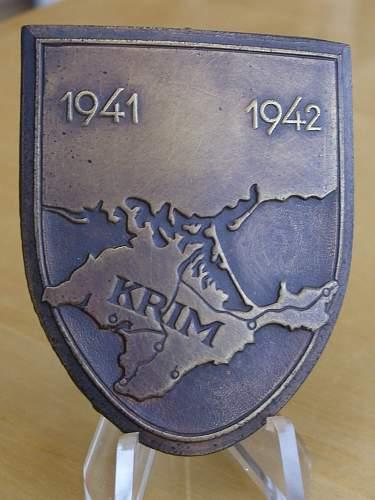 57er Krim shield.