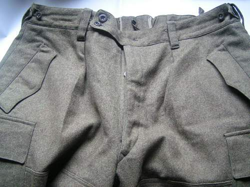 Trousers?