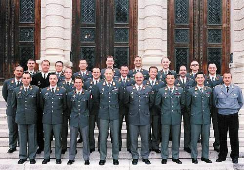 The Bundesheer, the modern Austrian Army.