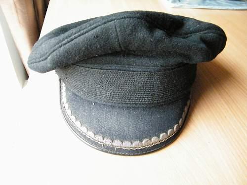post war German navy visor cap