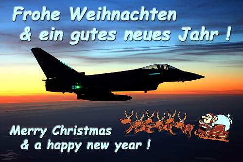 Merry Christmas to all Bundeswehr lovers !