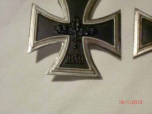 57er Eisernes Kreuz 1. klasse