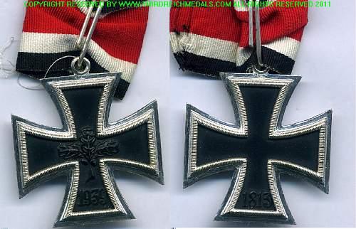 Knights cross 57