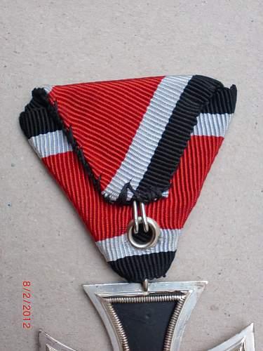 57er Eisernes Kreuz 2. klasse am dreiecksband