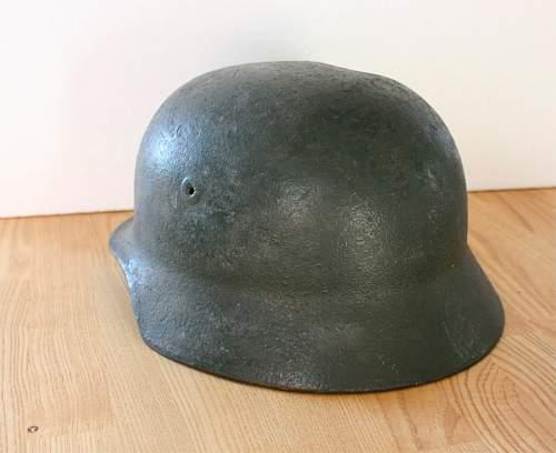 Helmet postwar?